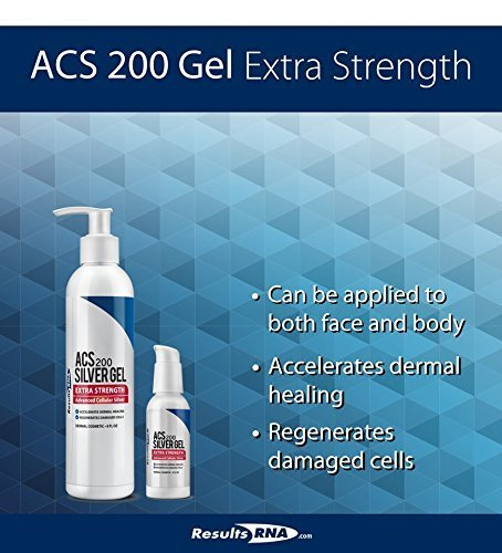 Accelerate dermal healing with ACS 200 Silver-Glutathione Gel Extra Strength and its unique topical formula that is soothing and rejuvenating and promotes a healthy skin.