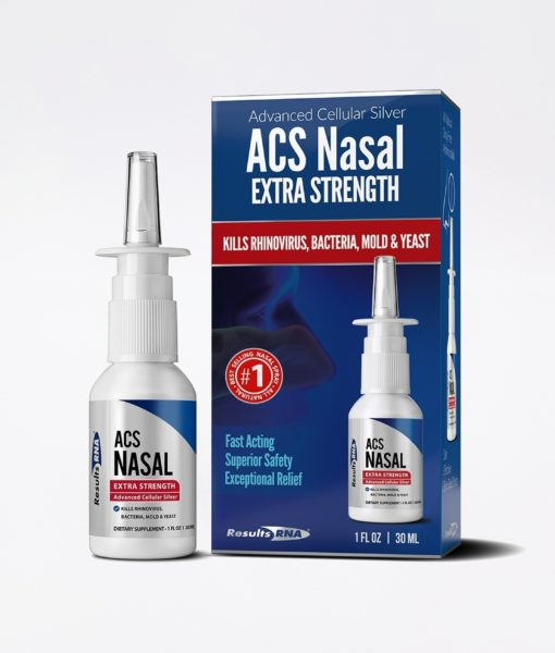 ACS 200 Extra Strength 1oz Nasal Spray - #1 for clearing passages and providing powerful immune system support, helping with sinus-, congestion- and allergy/flu cold reliefy, so you can breathe deep, day & night.