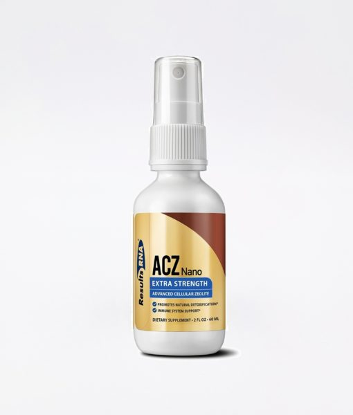 ACZ Nano Zeolite Extra Strength 2oz - #1 daily support for the body's natural detoxification process by selectively and irreversibly binding and removing toxic heavy metals, chemical toxins and free radicals, and thereby promoting natural detoxification and immune system support.