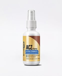 ACZ Nano Zeolite Extra Strength 4oz - #1 daily support for the body's natural detoxification process by selectively and irreversibly binding and removing toxic heavy metals, chemical toxins and free radicals, and thereby promoting natural detoxification and immune system support.