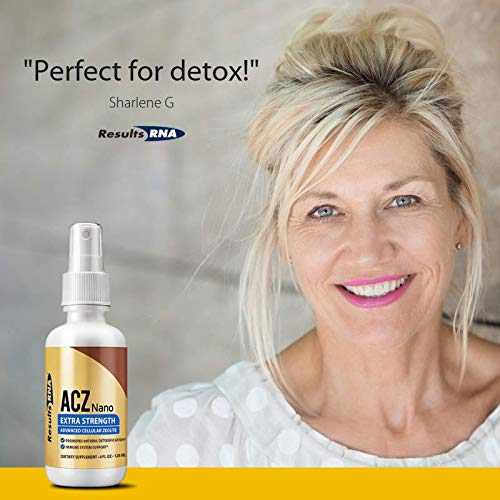 ACZ Nano Zeolite Extra Strength - #1 daily support for the body's natural detoxification process by selectively and irreversibly binding and removing toxic heavy metals, chemical toxins and free radicals, and thereby promoting natural detoxification and immune system support.